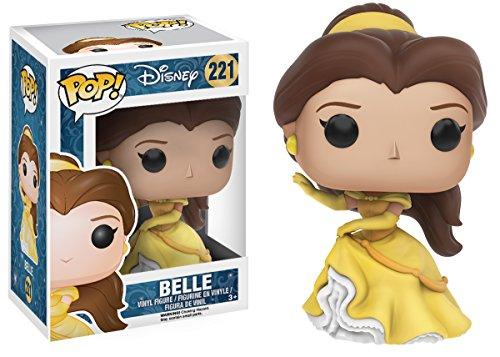 Funko Pop Bella con vestido amarillo (Bella y Bestia – Disney – 221) Funko Pop La Bella y la Bestia