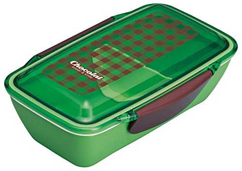 boîte à lunch en dôme Chocolat vert 658720