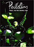 Locandina Phil Collins Finally... The First Farewell Tour Region 2 DVD for EUROPE & JAPAN