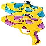 Cestlafit Pistola De Agua De Largo Alcance Super Soaker, Water Drencher Pistola Presurizada, Potente Pistola De Agua De Acción De La Bomba Para Niños, Paquete De 2