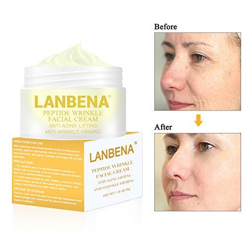 Feuchtigkeitscreme alterungsbekämpfende Gesichtscreme für gute Ergebnisse gegen Alterserscheinungen und Falten, Die beste Anti-Aging Faltencreme
