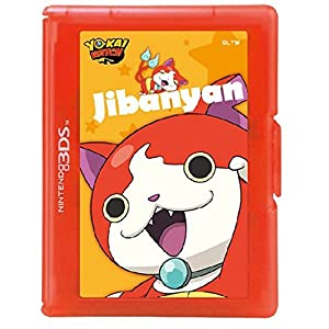 Yo-Kai Watch Card Case Jibanyan [New Nintendo 3DS, Nintendo 3DS, Nintendo DS]