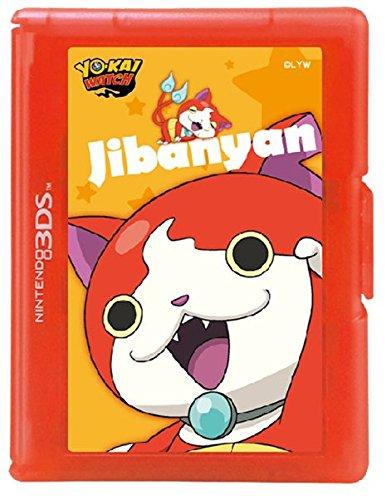 Boitier de protection 12 jeux Jibanyan Yo-Kai Watch pour 3DS/3DS XL/ New 3DSXL