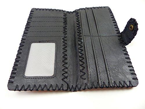 Trendit Set di valigie bianco nero