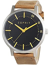 Esprit Herren-Armbanduhr Analog Quarz Leder ES108271001