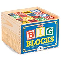 Tobar Alphabet Wood Blocks (Large)