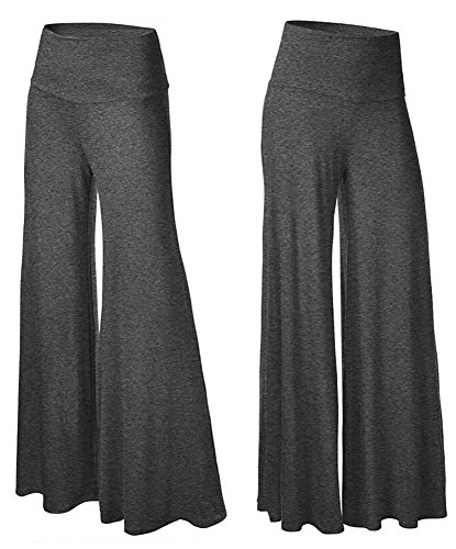 happy-lily-womens-high-waist-slinky-wide-leg-long-palazzo-bell-bottom-yoga-pants
