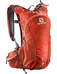 Salomon Agile 12 - Mochila muy ligera, 12L, para correr, 45x22,5x13,5 cm, rojo
