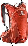 Salomon Zaino leggero, Ideale per il running su strada, 12 litri, 45 x 22.5 x 13.5 cm, AGILE 12 SET, Rosso, L38003100