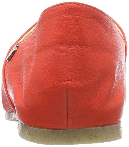Jonnys Damen Beo Niedrige Hausschuhe Rot (Geranium)