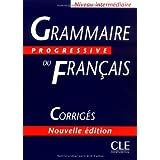 Grammaire progressive du français. Corrigés. Niveau intermédiaire. Perle Scuole superiori