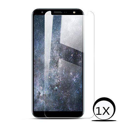 ToDo Panzerglasfolie Displayschutzfolie für LG K40[1Stück],(Transparent)[mit Hülle] [Fehler Vermeiden] [Ultra-Klar] [ Einfache blasenfreie Installation] Schutzfolie -
