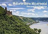 Welterbe Oberes Mittelrheintal (Wandkalender 2019 DIN A4 quer): UNESCO Weltkulturerbe: Oberes Mittelrheintal - Rheinromantik und Höhenburgen (Monatskalender, 14 Seiten ) (CALVENDO Orte)