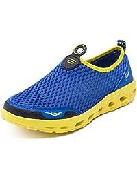 Yooeen Hombre Mujer Zapatos de Agua Malla Transpirable Zapatos de Playa  Escarpines Secado Rápido Calzado de Natación para Buceo Surf… 5597f8ff9a8
