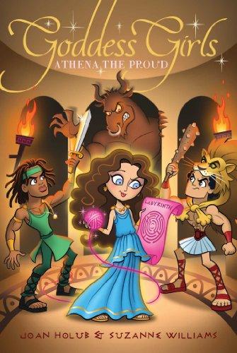 Athena the Proud (Goddess Girls (Paperback))