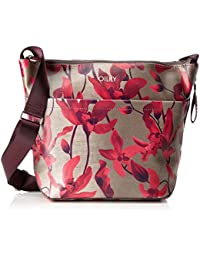 Oilily Damen Jolly Shoulderbag Lvz Umhängetasche, Rot (Dark Red), 12 x 28 x 35 cm