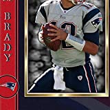 SGH SERVICES Neuf encadrée Tom Brady New England Patriots NFL Football américain NFL dédicacée encadrée Photo dédicacée encadrée MDF Cadre Photo Print # 5