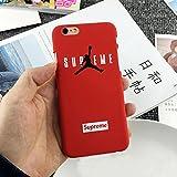 OB4U Air Jordan SUPREME for iPhone 8Plus- RED