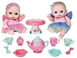 JC TOYS- Muñecos bebé, Color Pink, Purple, Green (16957)