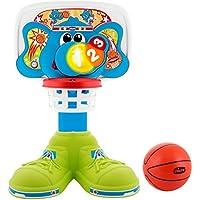 Artsana Spain, S.A.U. Canasta Basket 123 con Luces y Sonidos Incluye Pelota 25X58X36 Altura Regulable