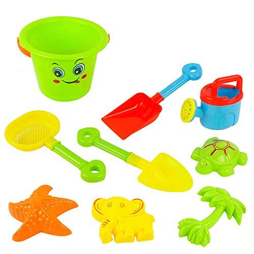 juguetes-de-playa-conjunto-de-cubo-de-arena-de-serie-9-nios