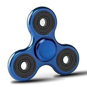 Fidget Spinner de Zekpro | Hand Spinner Juguete Sensorial Fidget Toy Personalizable Alivia Estrés Tensión y Ansiedad para TDAH TDA Autismo | Aleación de Aluminio de Zekpro