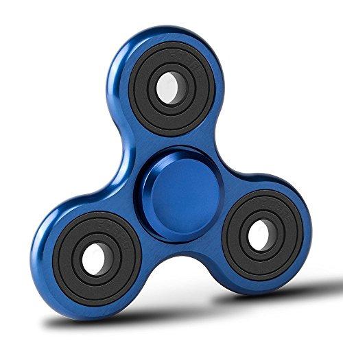 Zekpro Fidget Spinner | Hand Spinner | Finger Spinner Dekomprimierung | Einzigartigen Zodiac Zeichen | Stress und Angst Relief | Das perfekte Geschenk für Ruhe & Fokus | Aluminium Legierung (Blau)