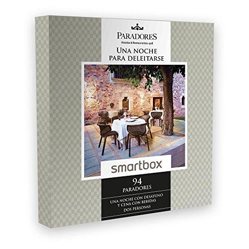 SMARTBOX – Caja Regalo – UNA NOCHE PARA DELEITARSE – 94 Paradores excepcionales y únicos en España como castillos, palacios o conventos.