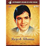 Rajesh Khanna - 4 Superhit Films in One Pack