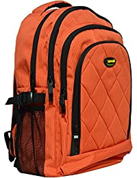 Newera Diamond School Bags For Kids One Piece Orange Kids School Bags For Girls Boys Children School Bags