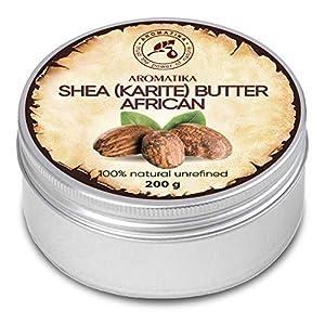 Manteca de Karité – 200g – Shea Butter Africana – Puro y Natural Butyrospermum Parkii – Óleo Corporal – Hidratante…