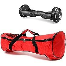 mark8shop 6,5pulgadas Rojo Bolso De Mano Bolsa de transporte para 2ruedas Self Balance Smart patinete eléctrico monociclo