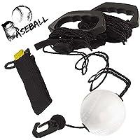 Entrenador de swing para béisbol y softball: mejore su poder de bateo, ritmo, sincronización y confianza, desarrolle mecánicos de swing, simule lanzamientos reales, obtenga entrenamiento de horas de swing