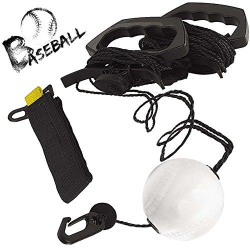 XBCC Swing Trainer für Baseball und Softball - Verbessere Deine Schlagkraft, Pacing, Timing und Selbstvertrauen, entwickle Swing Mechanics, simuliere Real Pitches, Bekomme Stunden Swing Training