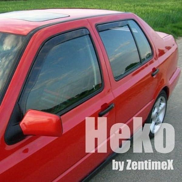 Heko Z902049 Windabweiser Regenabweiser Für Golf 3 Hatchback Variant Kombi Für Vorne Und Hinten Auto