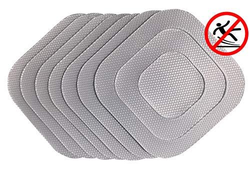 cocofy® 21 Anti Rutsch Sticker für die Badewanne und Dusche - transparente Aufkleber