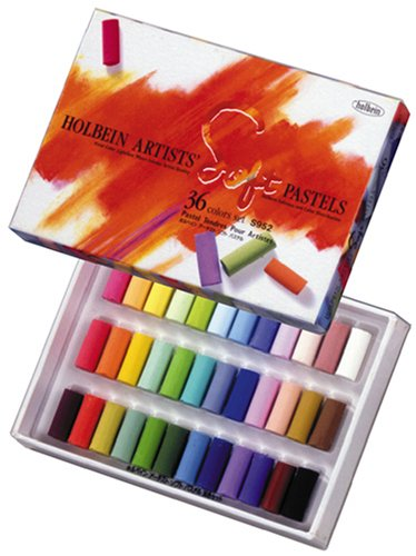 Holbein-palette (Holbein soft pastel colors set 36 (japan import))