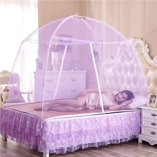 W-shufang, Sommer Moskitonetze Baby Erwachsene Bettwäsche Zelt Etagenbett Moskitonetze Erwachsene Doppelbett Zeltnetz (Color : Weiß, Size : 60x120cm Child) -