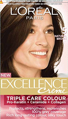 L'Oreal Paris Excellence Creme, Natural Brown 05 (72ml+100g)