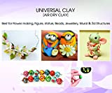 #7: universal clay, air drying clay, porcelin clay china clay thai sculpture