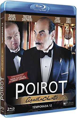 Agatha Christie - Poirot - 12ª Temporada (Blu-Ray)