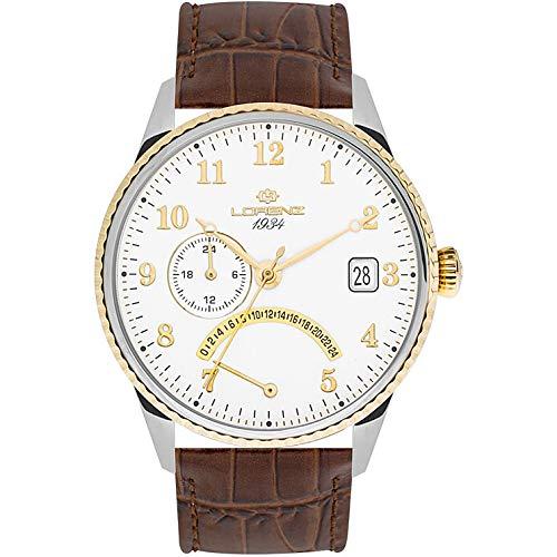 orologio solo tempo uomo Lorenz 1934 trendy cod. 030103DD