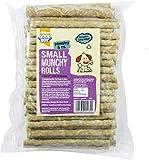 Good Boy Small Natural Rolls, 100 Dog Chews 125mm x 9-10 mm, 900g