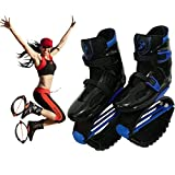Kangoo Jumps Botas Adulto de Salto para Fitness Peso hasta 90kg,Blue,XL