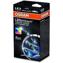 Osram LEDINT202 LEDambient Tuning Lights Extension Kit Luz para el Interior del Vehículo, Tiras de LED Flexibles de 16 Colores con Reverso Adhesivo