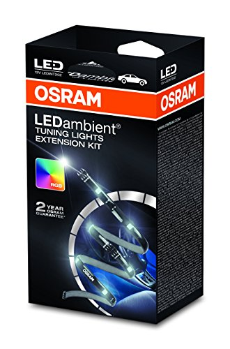 OSRAM LEDINT202 LEDambient Tuning Lights Extension-Kit, 12V, Faltschachtel (1 Stück) (Orange-streifen-polo)