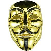 Máscara ANONYMOUS - V para VENDETTA - Revolution - oro