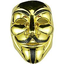 Masque ANONYMOUS - V POUR VENDETTA - REVOLUTION - OR