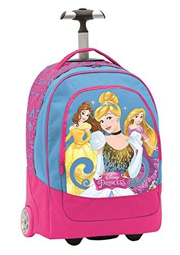 Seven Disney Princess 2B9001605-512 Trolley Zaino, 30 litri, Poliestere, Blu