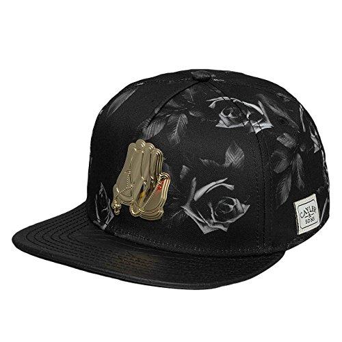 Cayler & Sons Uomo Caps / Snapback Cap White Label Amen nero Regolabile